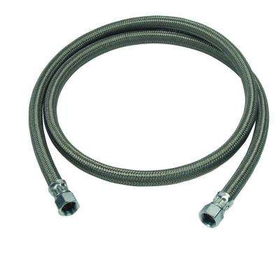 1/2 in. Compression x 1/2 in. Compression x 60 in. Braided Polymer Dishwasher Connector