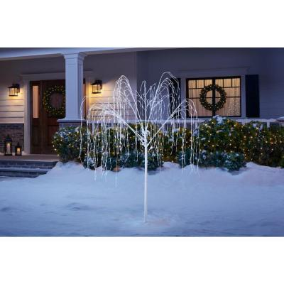 7 ft. LED Christmas Willow Tree