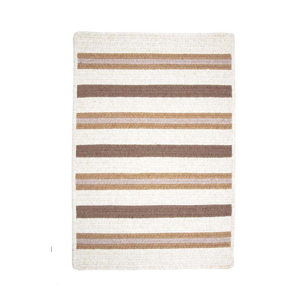 Promenade II 4 ft. x 6 ft. Natural Braided Area Rug