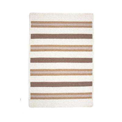 Promenade II Natural 5 ft. x 8 ft. Braided Area Rug
