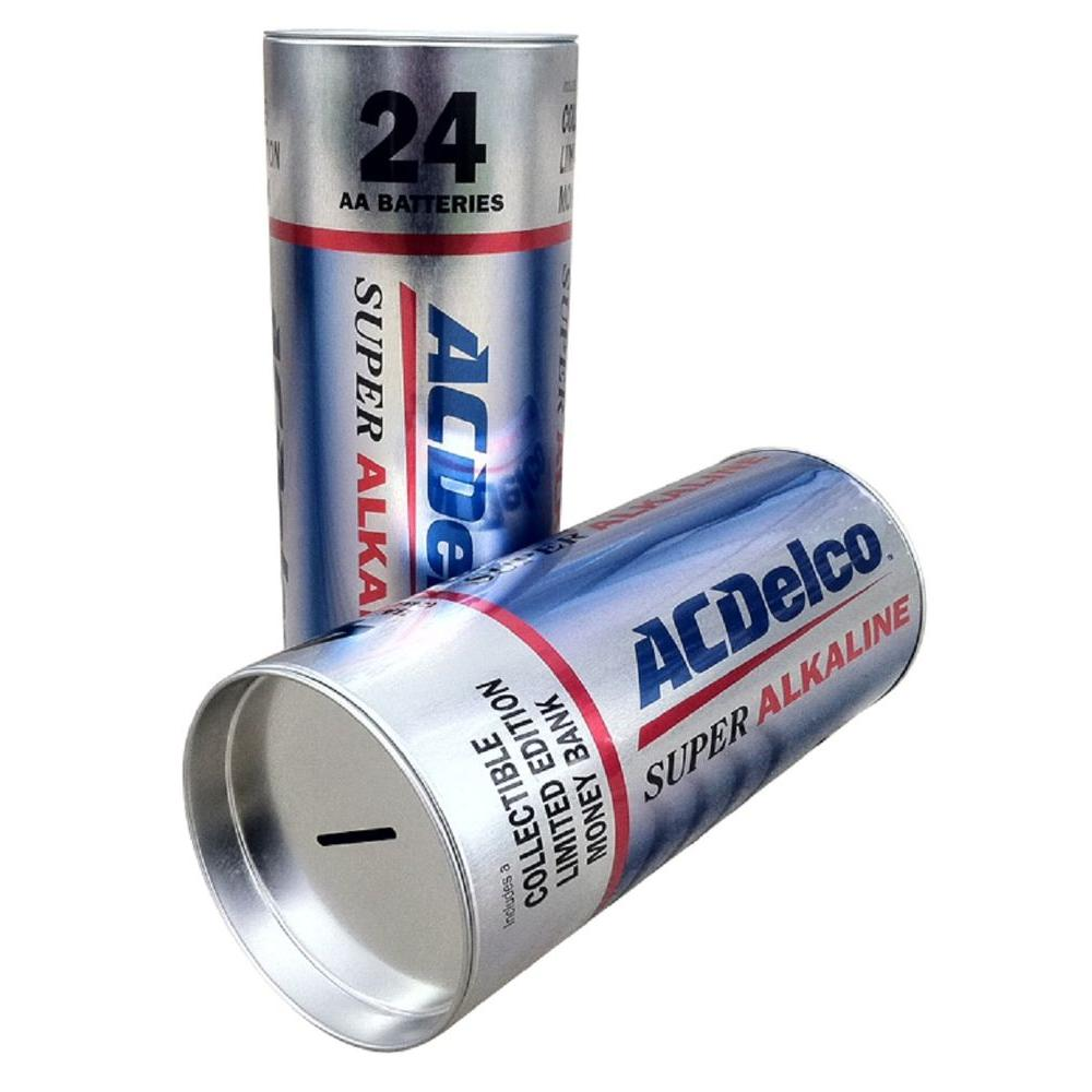 null ACDelco Collectible Storage Battery Box with 24 AA Alkaline Batteries