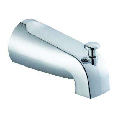 Tub Diverter Spout in Polished Chrome