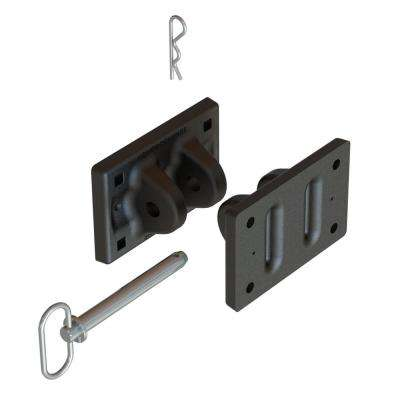 Quiet Dock Hinge Containing 2 Hinges (1 Set), 9 in. x 5 in. x 3-1/2 in. Includes Hitch Pin with Cotter Pin