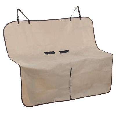 Khaki Pet Seat Cover