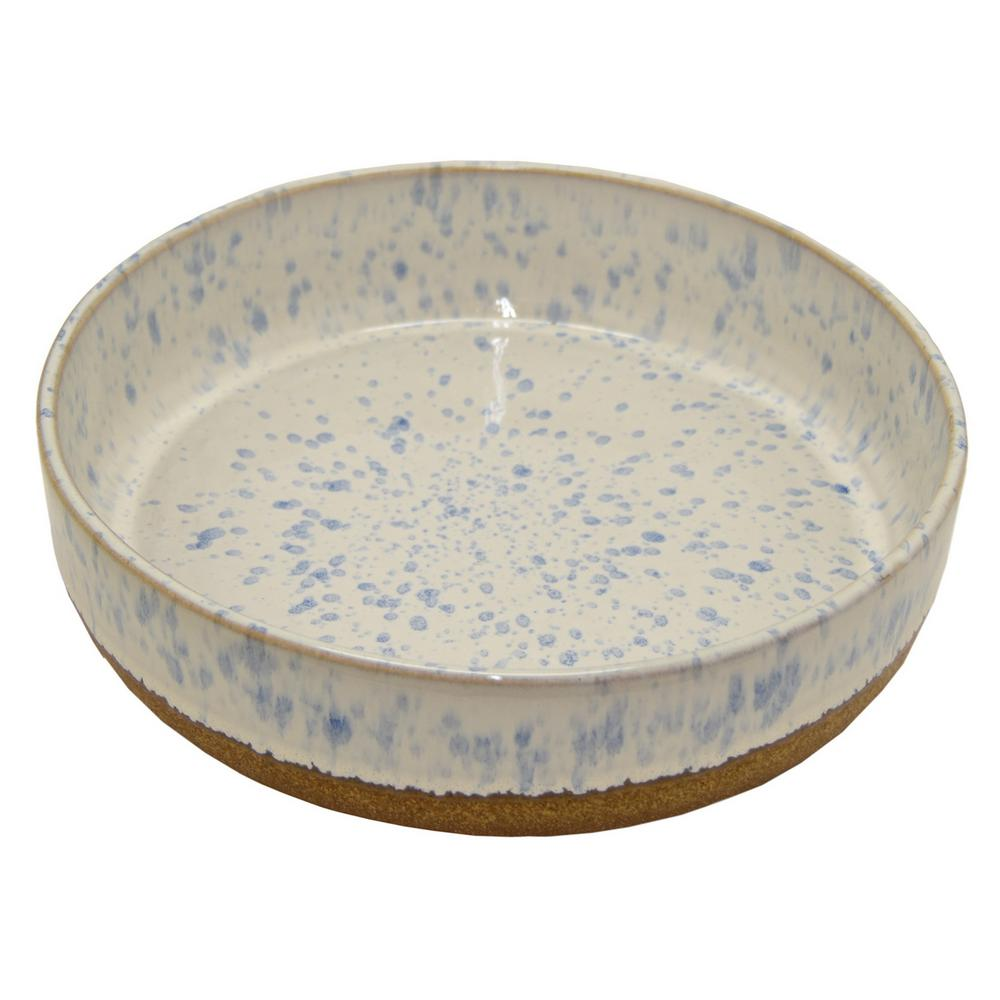 3 In Ceramic Bowl