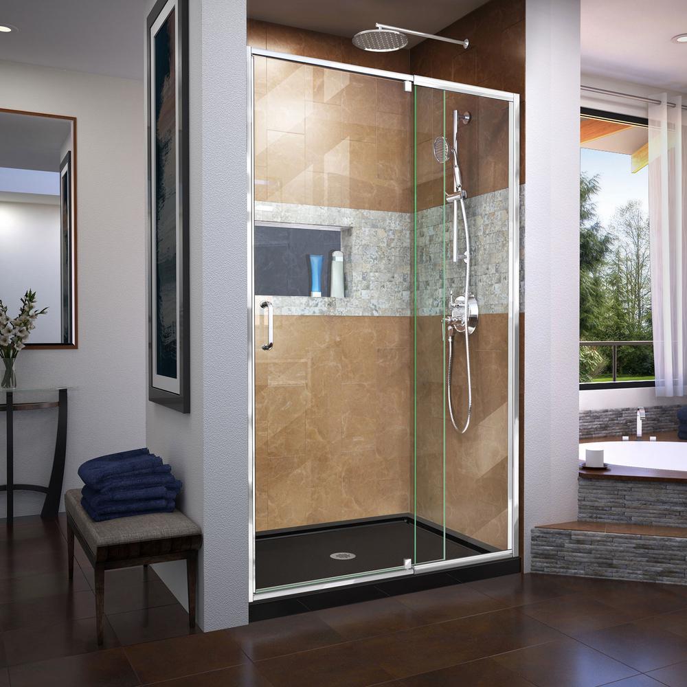 dreamline complete shower kit. Black Bedroom Furniture Sets. Home Design Ideas