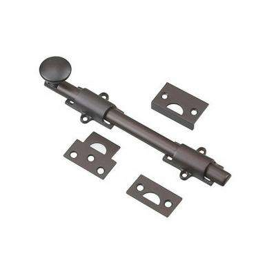 8 in. Oil-Rubbed Bronze Surface Bolt Kit