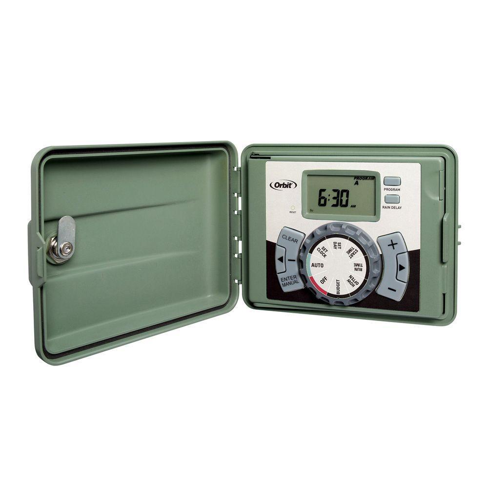 ORBIT Easy Dial Sprinkler Timer 6 Stations 57596