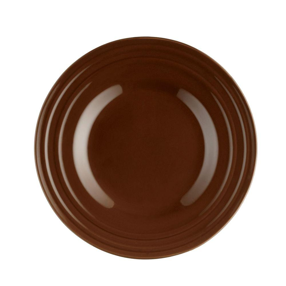 Rachael Ray Double Ridge 4-Piece Salad Plate Set in Brown  sc 1 st  The Home Depot & Rachael Ray Double Ridge 4-Piece Salad Plate Set in Brown-58245 ...