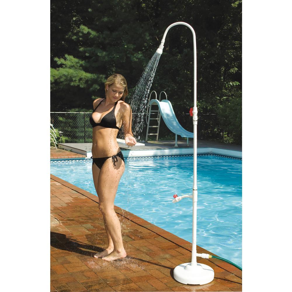 Poolside PVC Shower