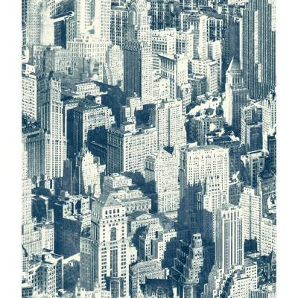 Urban Chic Big Apple Wallpaper