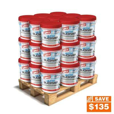 5 Gal. Ultra Siliconizer 100% Acrylic Elastomeric Reflective Roof Coating (Silicone-Modified) (27-Piece)