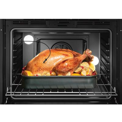 800 Series 30 in. Combination Electric Wall Oven with European Convection and Speed Microwave in Stainless Steel