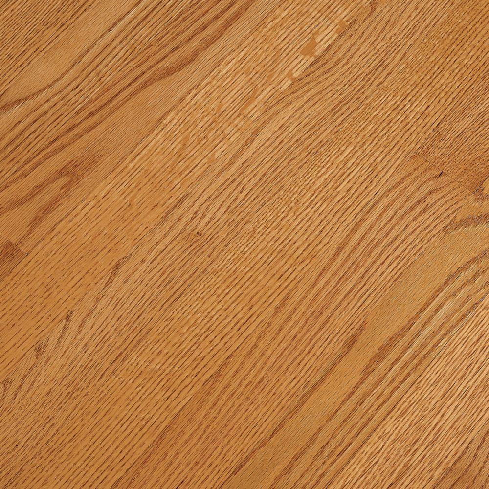 Bruce Laurel Butterscotch Oak Solid Hardwood -Take Home Sample- 5 in. x 7 in. Take Home Sample
