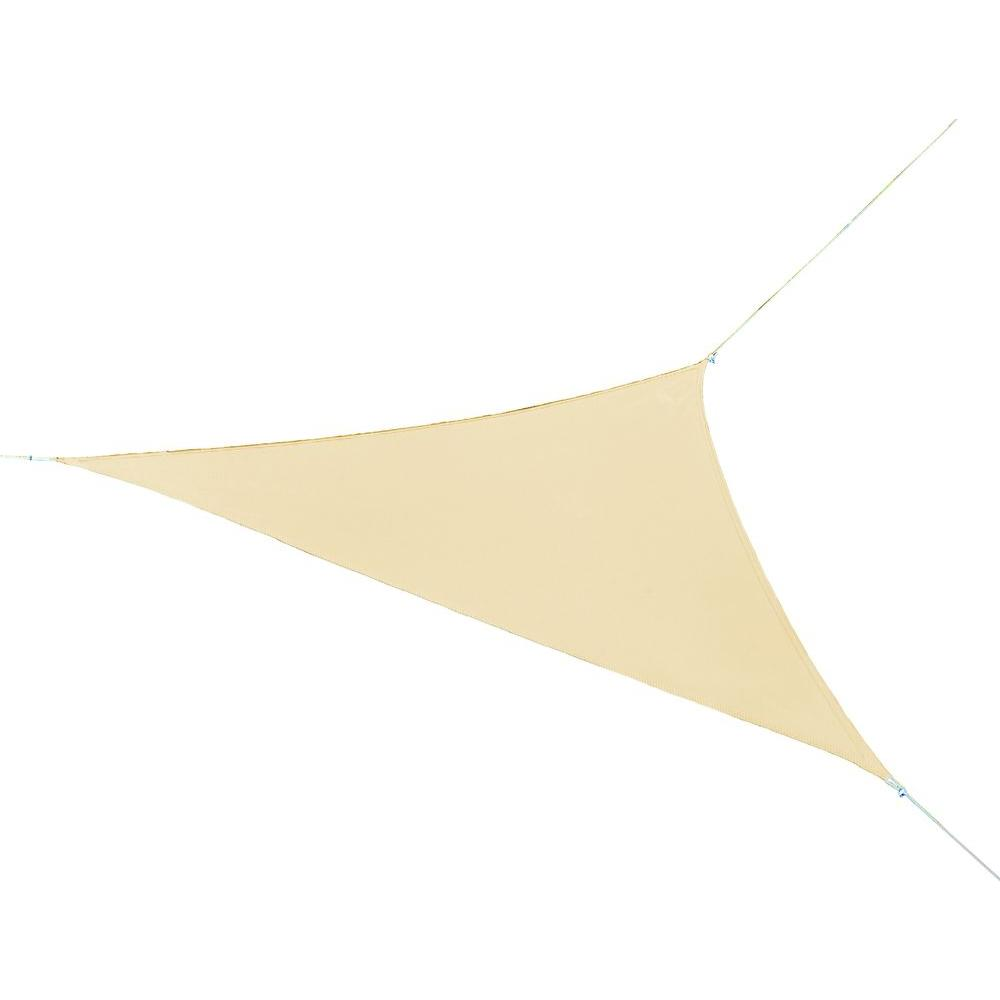 Coolaroo 11 ft. x 11 ft. Southern Sunset Triangle Ready to Hang Shade Sail