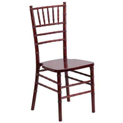 Hercules Series Mahogany Wood Chiavari Chair