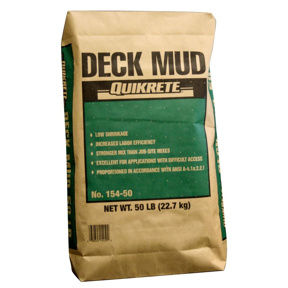 50 lb. Deck Mud Concrete Mix