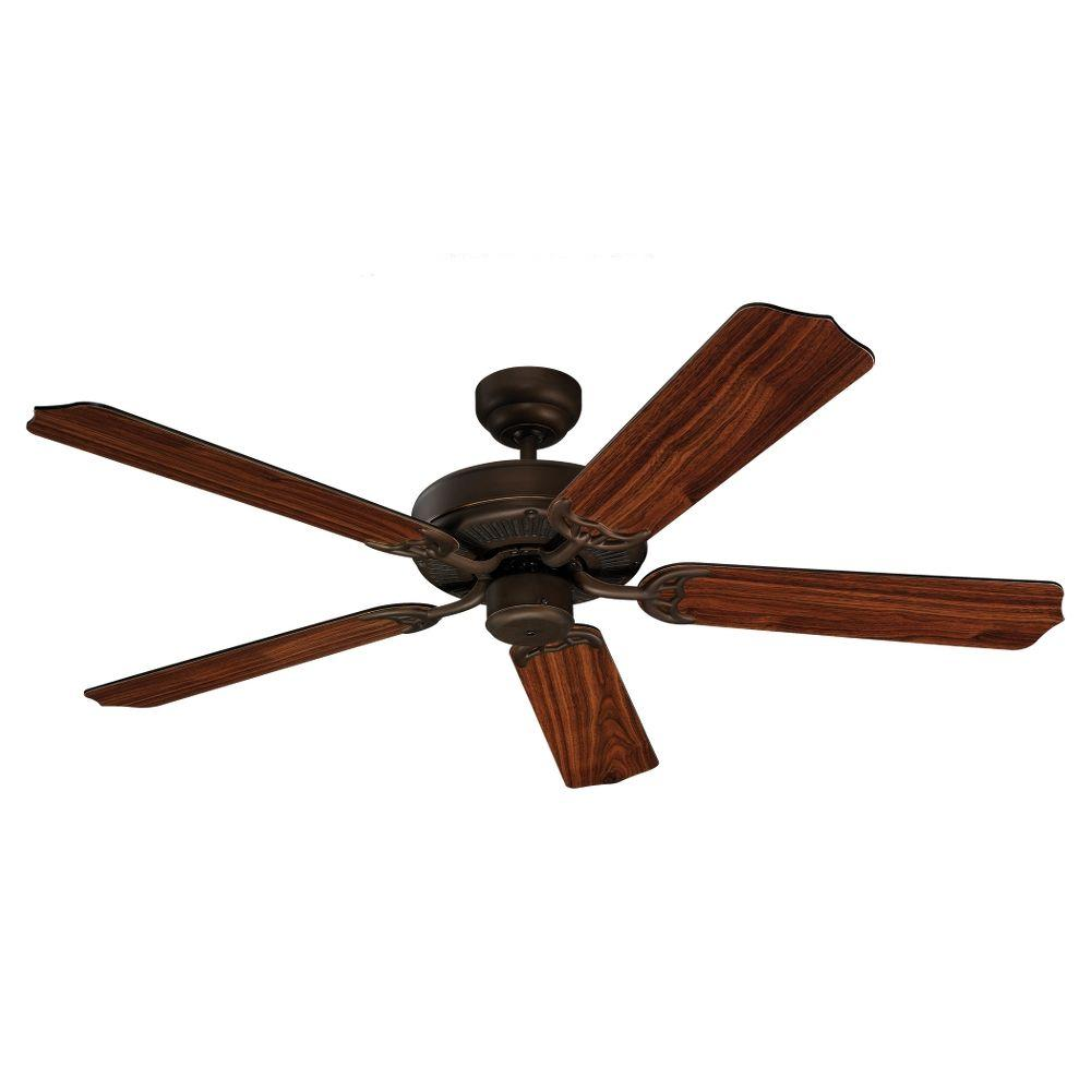 Sea Gull Lighting Quality Max 52 in. Roman Bronze Ceiling Fan