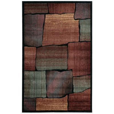 Expressions Multi 4 ft. x 6 ft. Area Rug