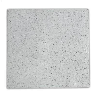 4 in. x 4 in. Solid Surface Countertop Sample in Atoll