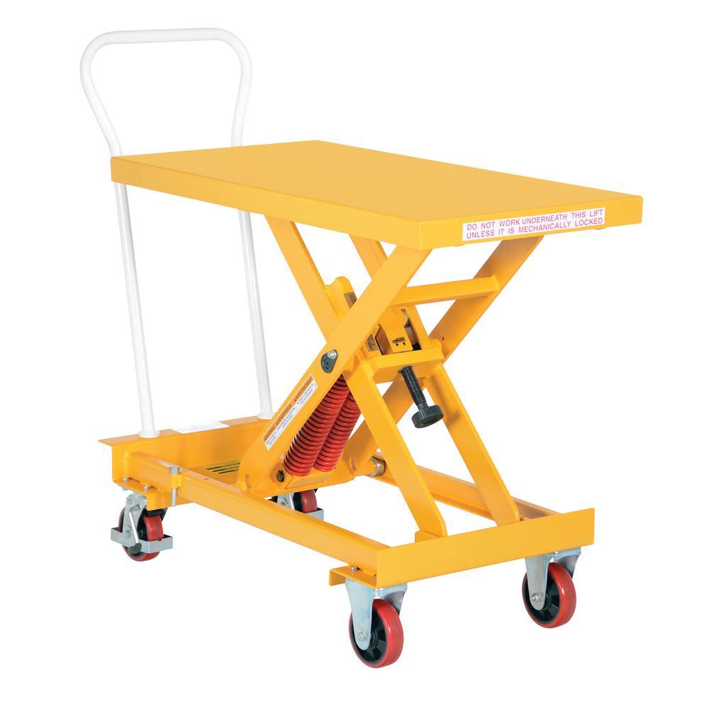 20 in. x 40 in. 800 lb. Capacity Auto-Hite Steel Cart