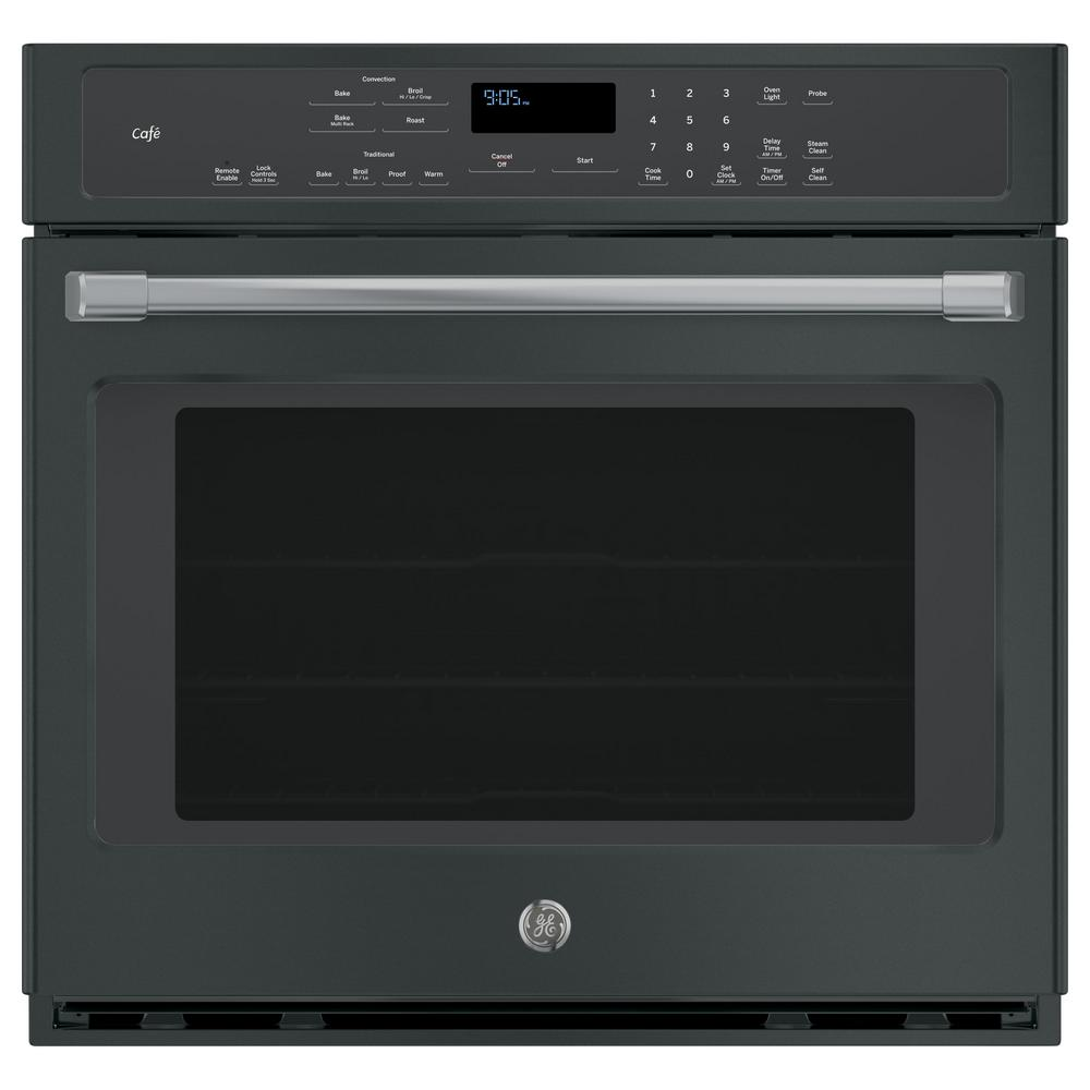 Cafe 30 in. Single Electric Smart Wall Oven Self-Cleaning with Convection