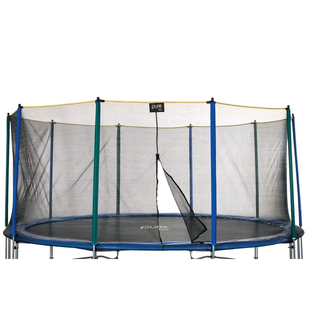 Pure Fun Enclosure Only for 15 ft. Trampoline