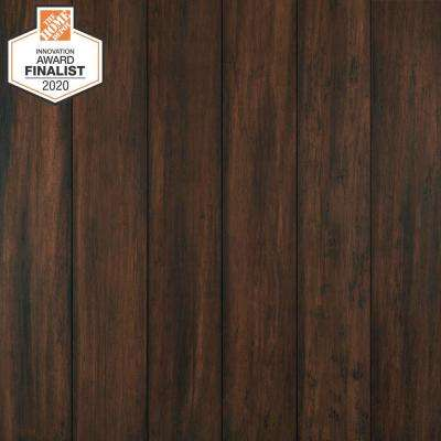 Florence 7 mm T x 5.12 in. W x 36.22 in. L Waterproof Engineered Click Bamboo Flooring (15.45 sq. ft./case)