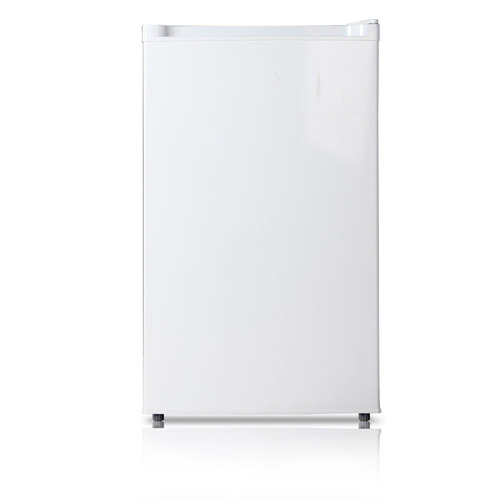 Midea stainless steel compact single reversible door upright freezers - Midea Stainless Steel Compact Single Reversible Door Upright Freezers 2