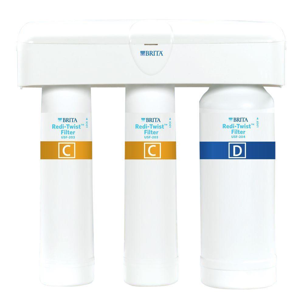 Click here to buy Brita Redi-Twist Purifier 3-Stage Drinking Water Filtration System by Brita.