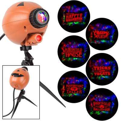 Ghoulish 6 Slides Halloween Projector