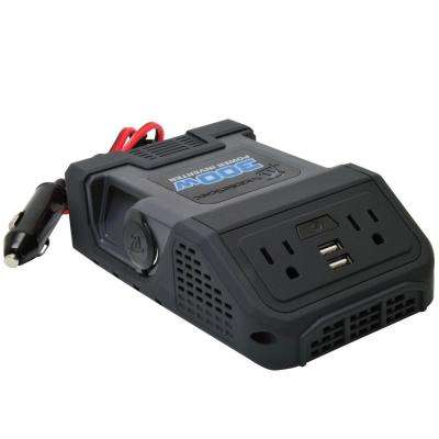 300-Watt Power Inverter, Black