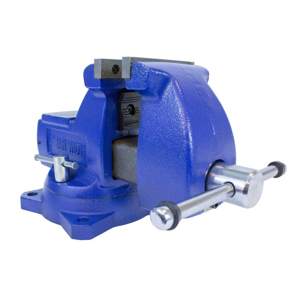 4 in. Yost Combination Pipe and Bench Mechanics Vise with Swivel