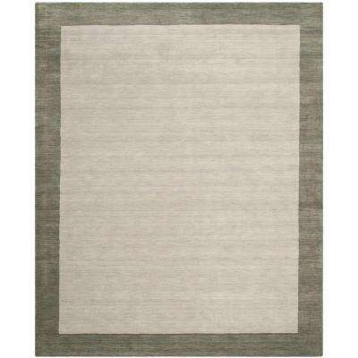Himalaya Light Grey/Dark Grey 8 ft. x 10 ft. Area Rug