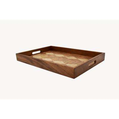 Zesho Rectangular Serve Tray