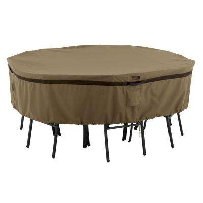 Hickory Medium Round Patio Table and Chair Set Cover