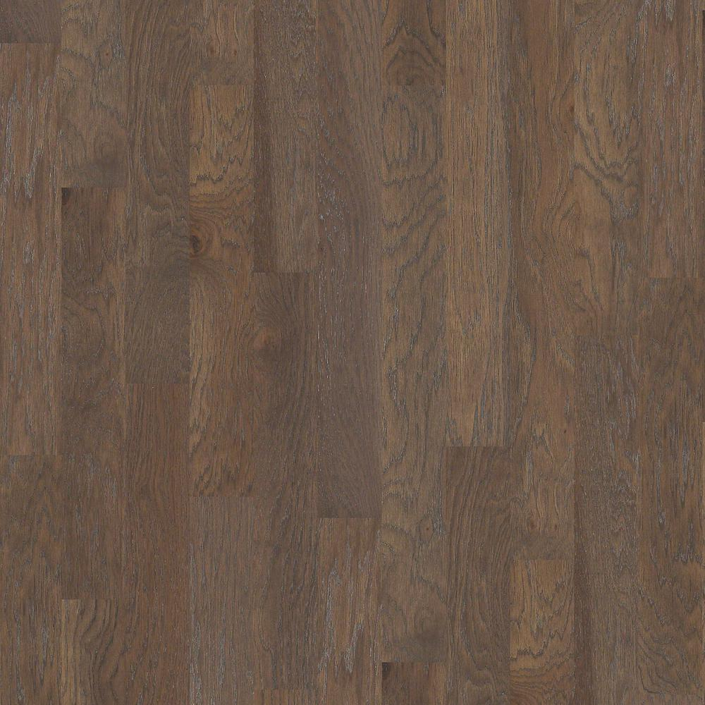Shaw Take Home Sample Kings Ranch Deep Well Engineered Hardwood Flooring 5 In