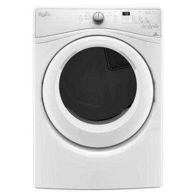 7.4 cu. ft. 240 Volt White Electric Vented Dryer with Advanced Moisture Sensing, ENERGY STAR