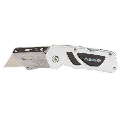Compact Folding Lock-Back Utility Knife
