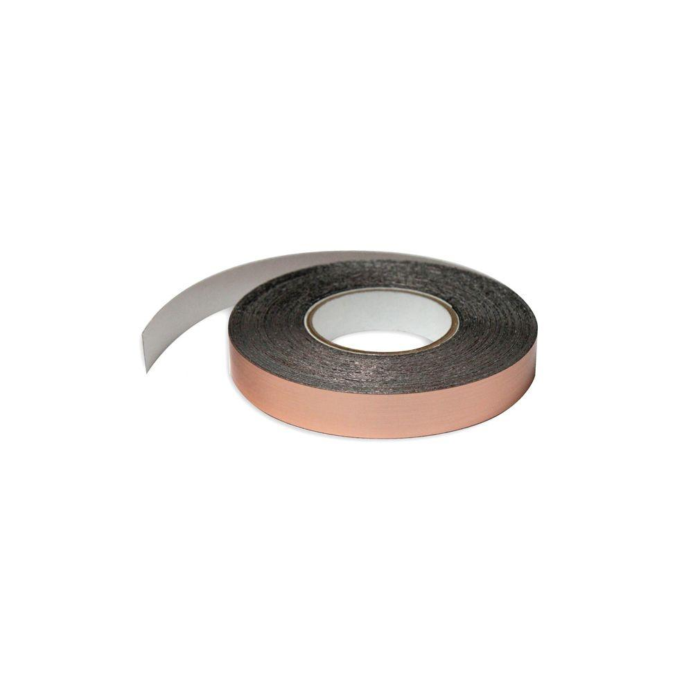 1 in. Wide x 100 ft. Long Roll Deco-Tape Faux Copper