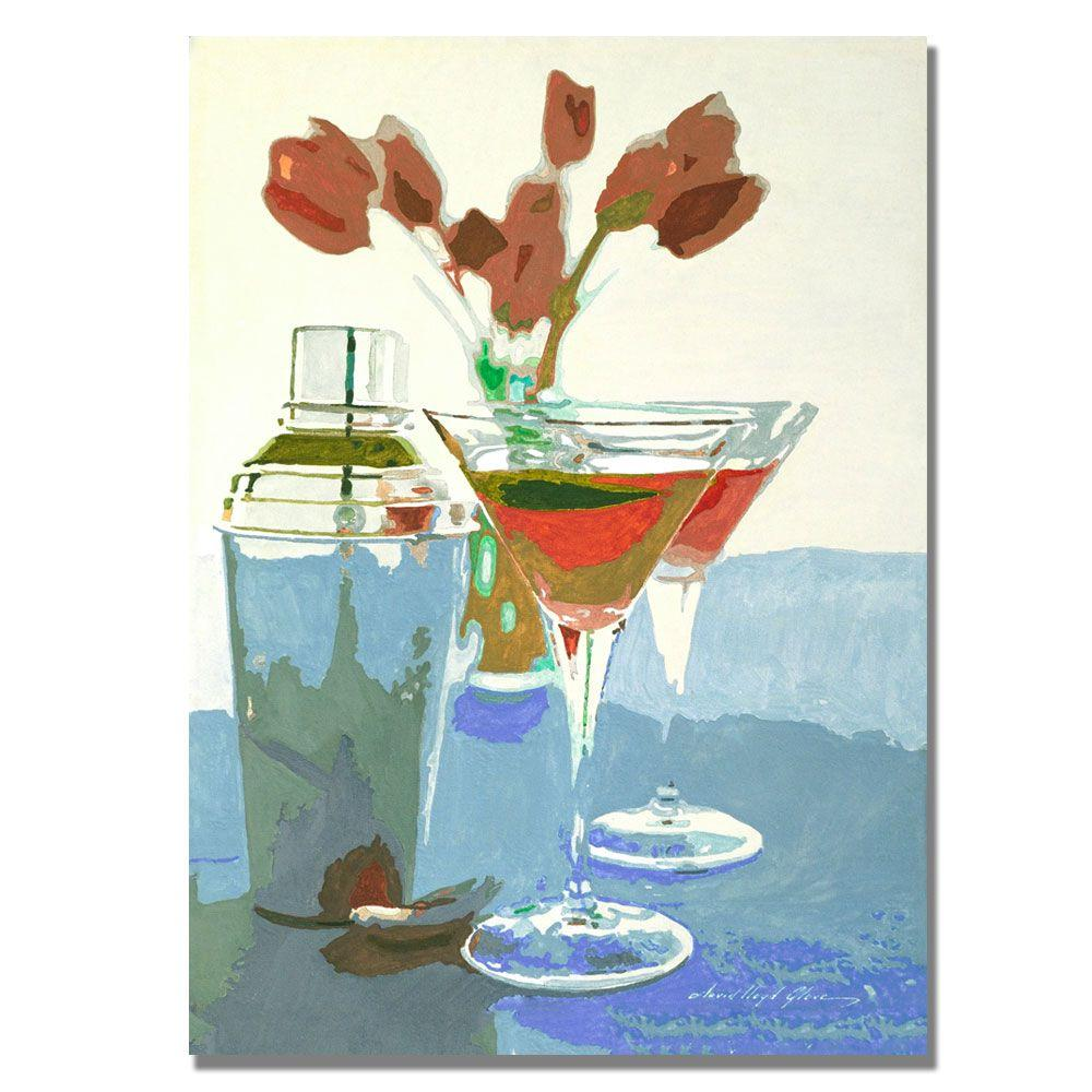 null 35 in. x 47 in. Tulips and Martinis Canvas Art