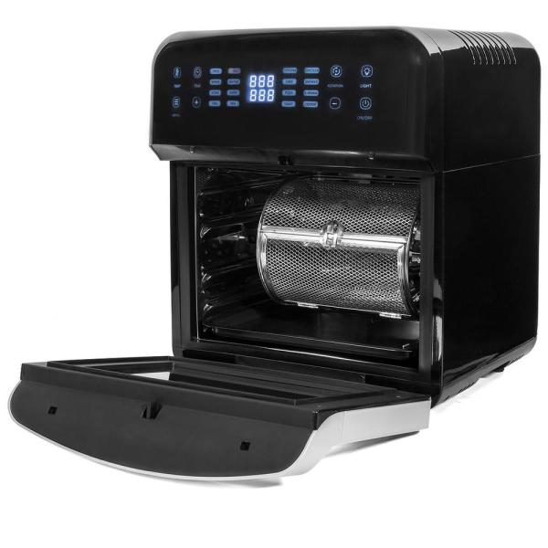 13 qt. 1600-Watt XL 16-in-1 Electric Air Fryer Oven with Rotisserie and Dehydrator Kit