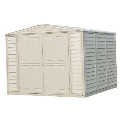 8 ft. x 8 ft. Shed with Foundation