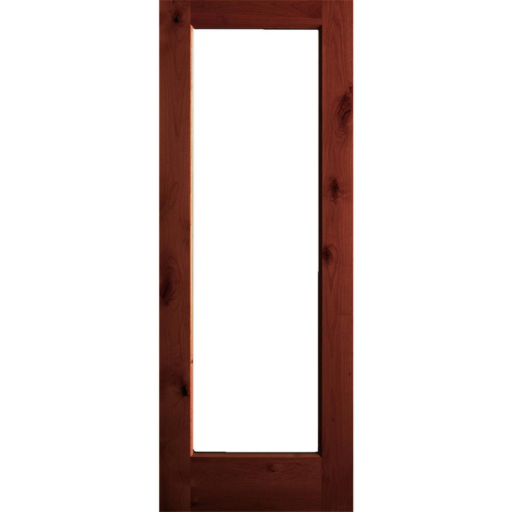 Krosswood Doors 30 In X 80 In Rustic Knotty Alder 2: Krosswood Doors 30 In. X 80 In. Rustic Knotty Alder Wood