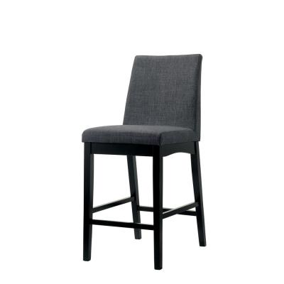 Mariam Wire-Brushed Oak Contemporary Style Counter Height Chair