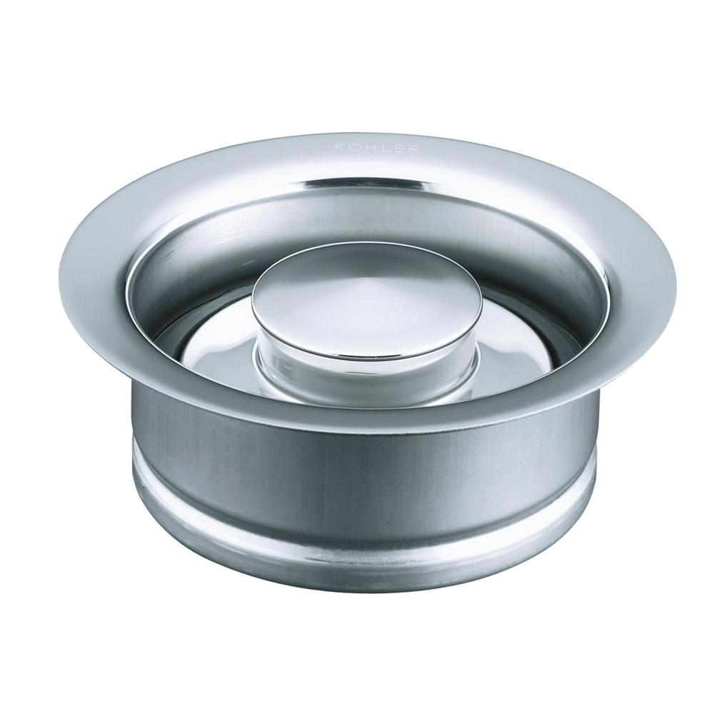 KOHLER 4-1/2 in. Disposal Flange in Polished Chrome-K-11352-CP - The ...