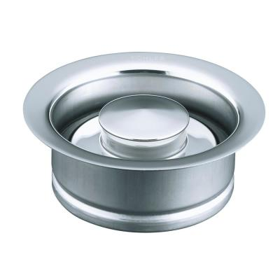 Disposal 4.5 in. Flange with Stopper in Polished Chrome