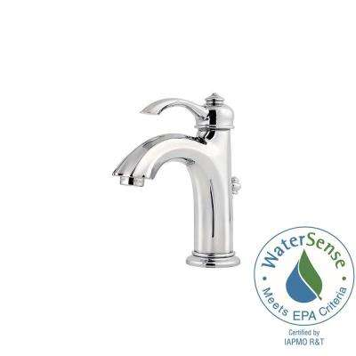 Portola 4 in. Centerset Single-Handle High-Arc Bathroom Faucet in Polished Chrome