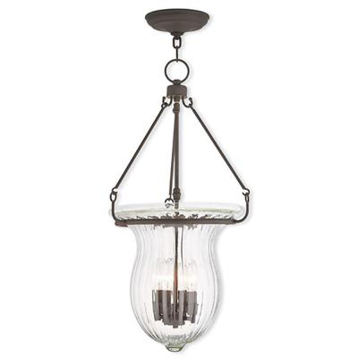 Andover 4-Light Bronze Pendant