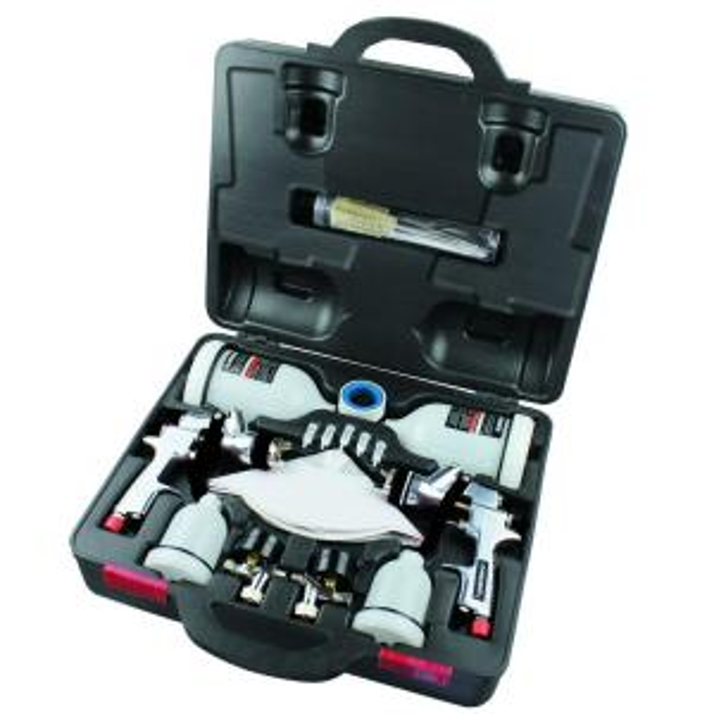 Husky Hvlp And Standard Gravity Feed Spray Gun Kit Hdk00600sg The Home Depot